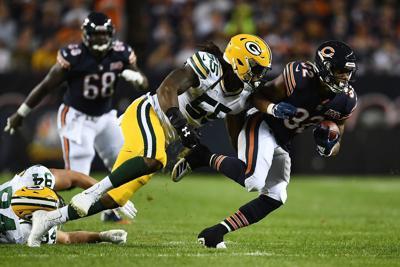 Packers D, Aaron Rodgers beat Bears 10-3 in opener