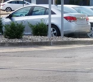 Benton IL bank robbery suspect car