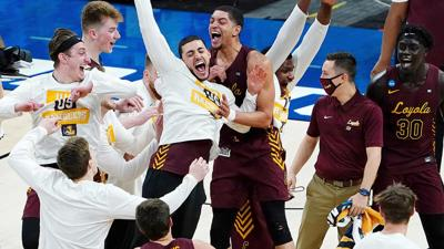 Nun-and-done: Loyola Chicago stuns top-seeded Illinois 71-58