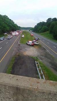 I-24 eastbound near Kuttawa, KY back open after deadly crash