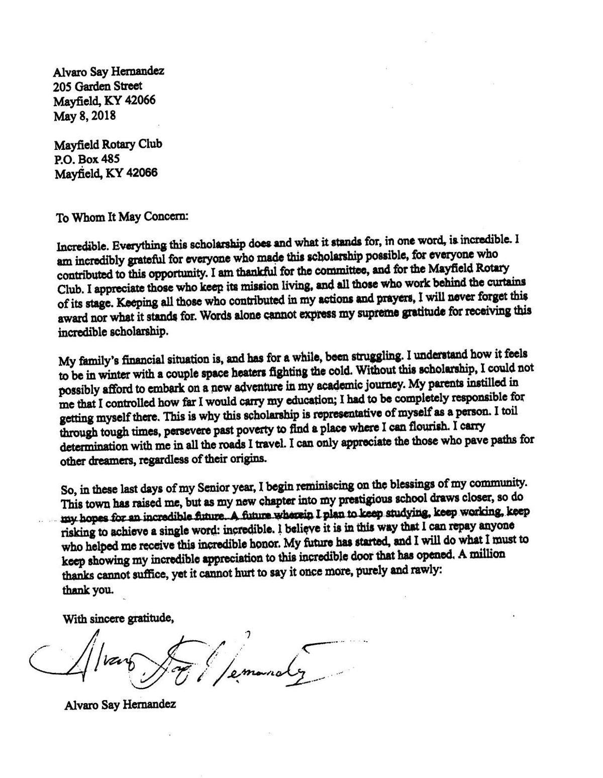 Alvaro Thank you Letter10142019