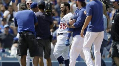 Martin 2-out, 2-run single in 9th, Dodgers edge Cards 2-1