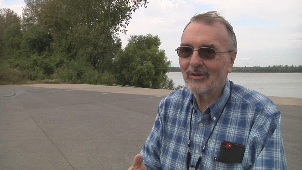 Leo Eaton has made several documentaries in the past, and he's excited to be in Paducah to tell another story