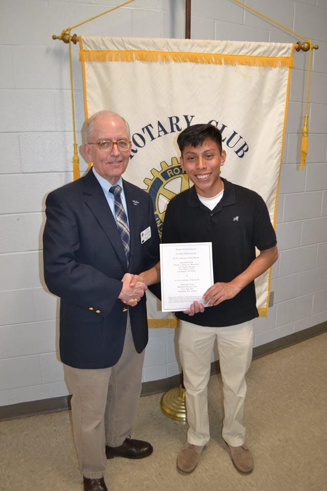 Mayfield Rotary Alvaro and John