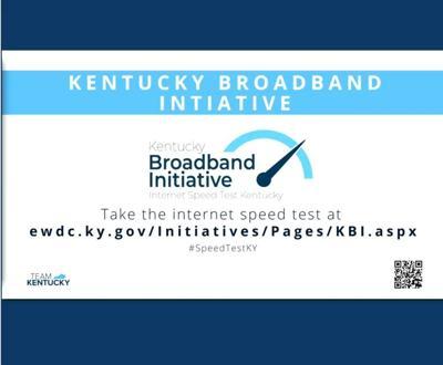 Broadband speed test slide