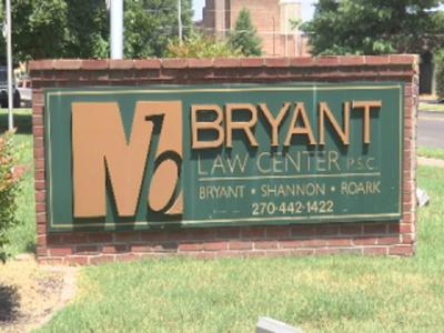 Bryant Law Center Sign