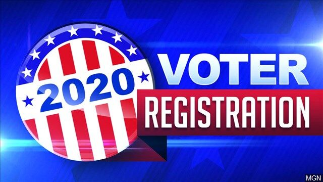 2020 voter registration