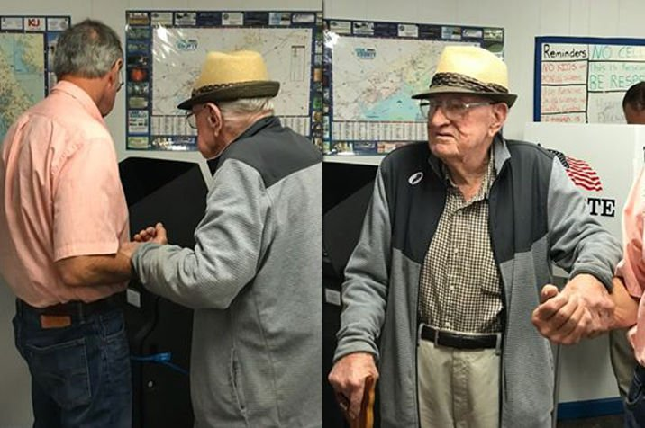 100yo-Thomas-White-votes