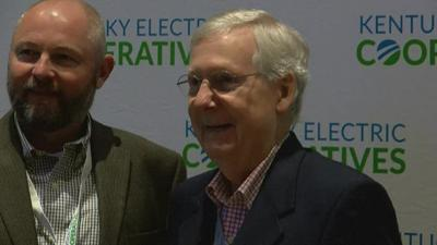McConnell in Louisville 11182019