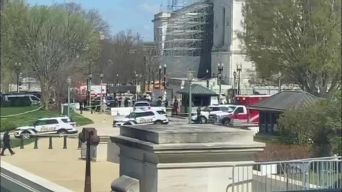 US Capitol lockdown