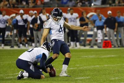 Titans place K Ryan Succop on IR, add Cairo Santos