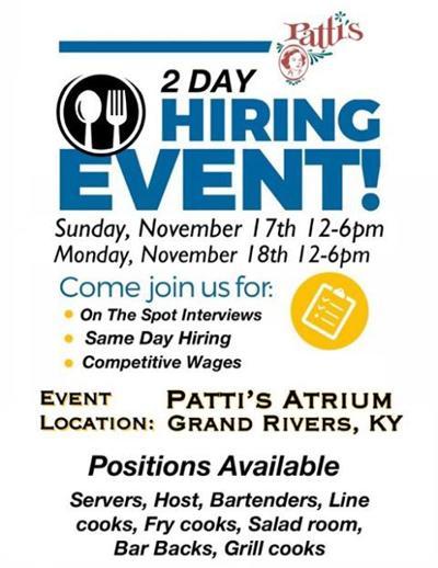 Patti's hiring