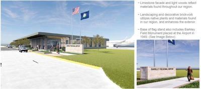 Barkley Regional Airport new terminal