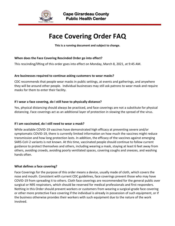 Face Covering Lifted FAQ  cape girardeau.pdf