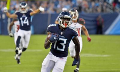 Titans trade WR Taywan Taylor to Browns for 2020 draft pick