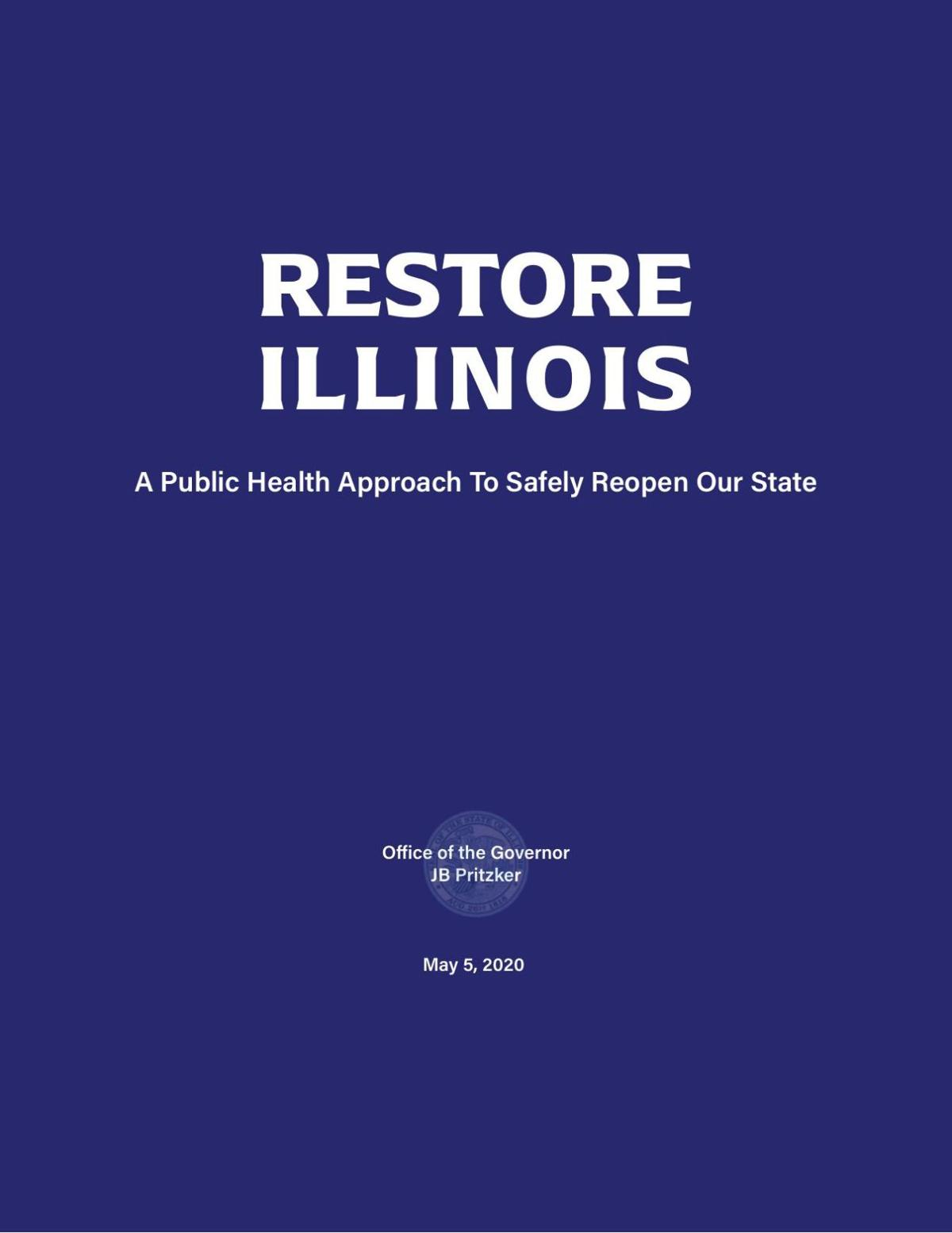 Gov Pritzker Outlines 5 Phase Plan To Reopen Illinois
