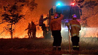 **This image is for use with this specific article only** Australia Fires