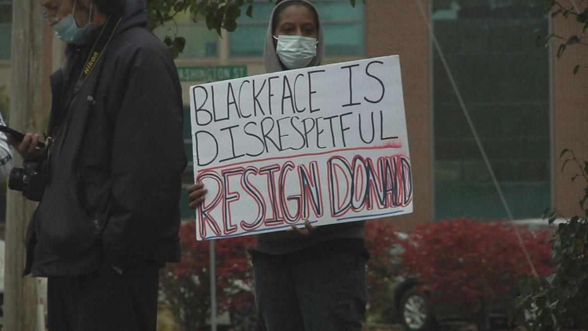 shively protest sign