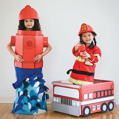 An Outside-the-Box, DIY Halloween Costume Combination