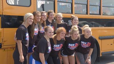 Lady Marshals leave for Sweet 16
