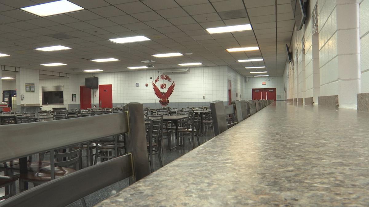 hickman high school cafeteria