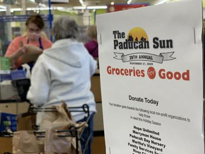Groceries for Good 2020 sign
