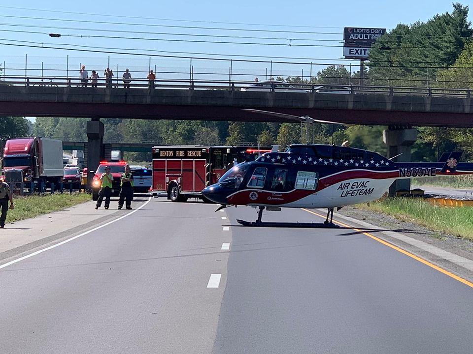 I-57 crash Franklin County IL