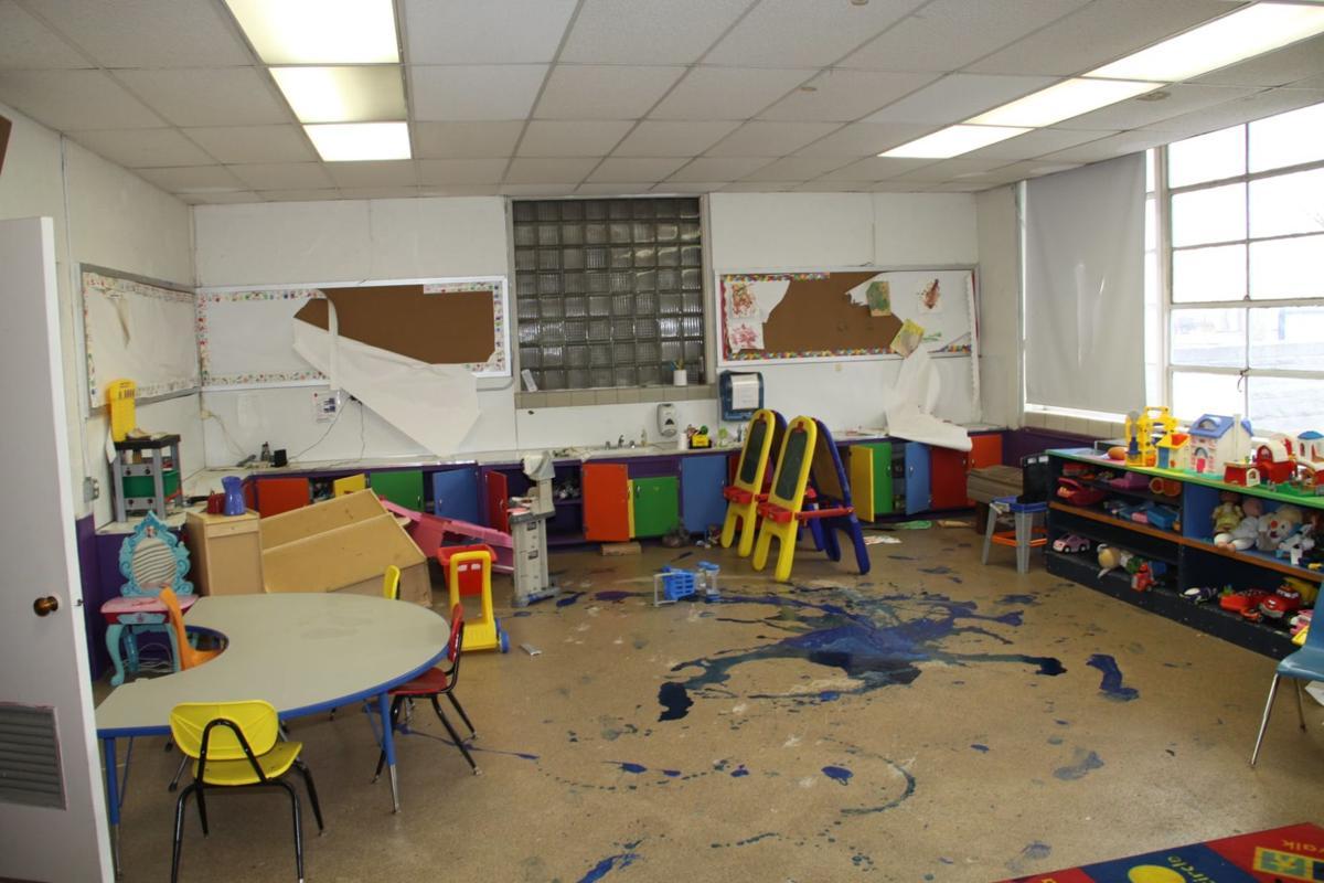 Kingdom Kids day care vandalism1