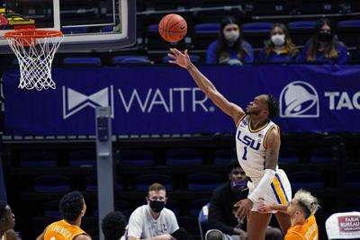 LSU pulls away late, wins easy over No. 16 Tennessee 78-65