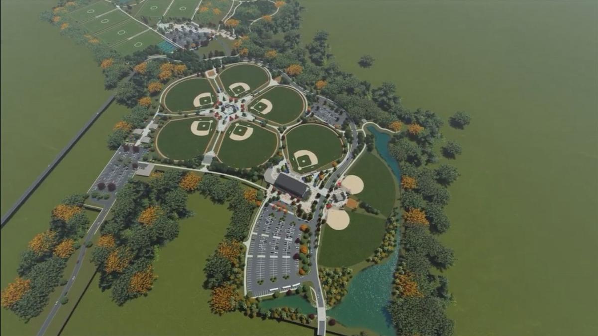 McCracken County Sports complex design rendering