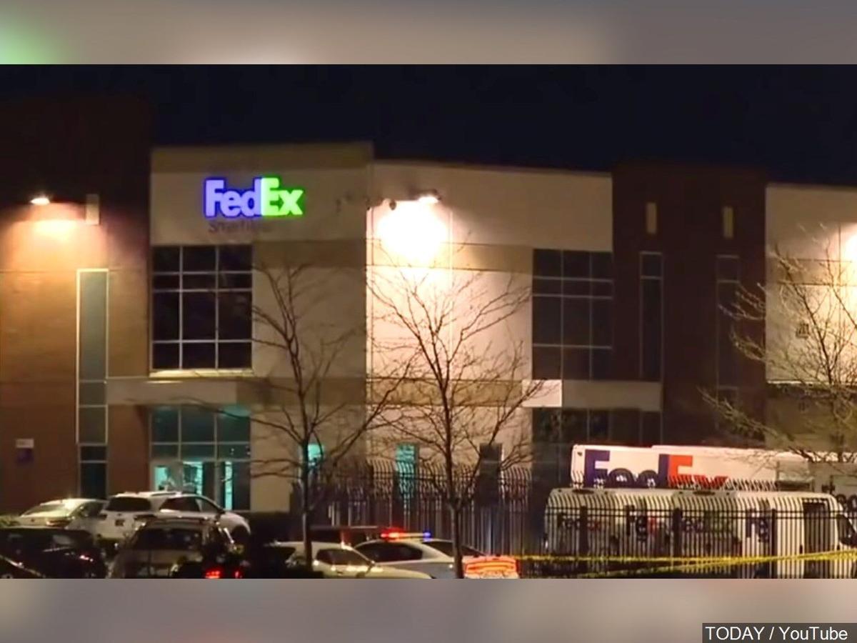 FedEx facility in Indianapolis, Indiana