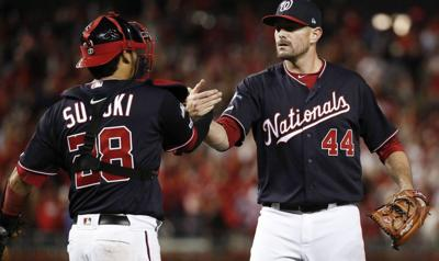 NLCS rosters: Nationals reliever Hudson on paternity list