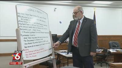 Judge Clymer explains county financial issues