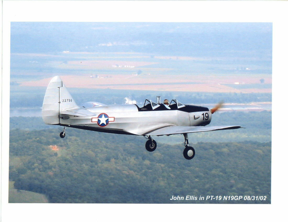 Fairchild PT-19 John Ellis