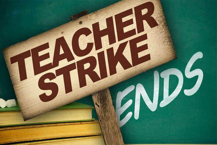 Teacher Strike Ends