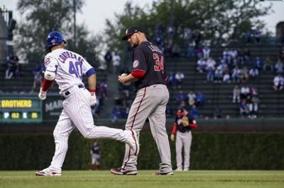 Contreras homers off Lester as Cubs beat Nationals 7-3