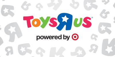 Toys R Us Powered by Target logo