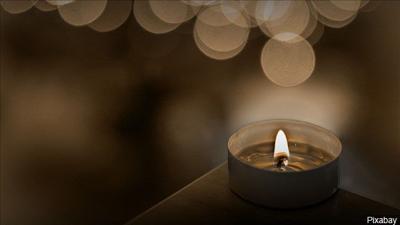 prayer vigil candle memorial