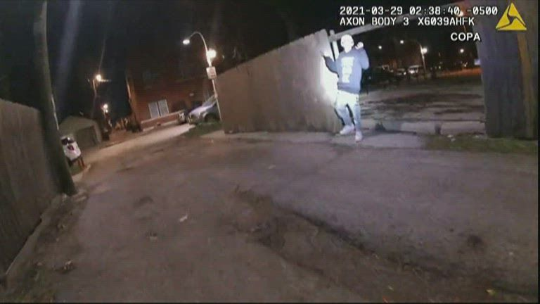 Adam Toledo shooting body camera still