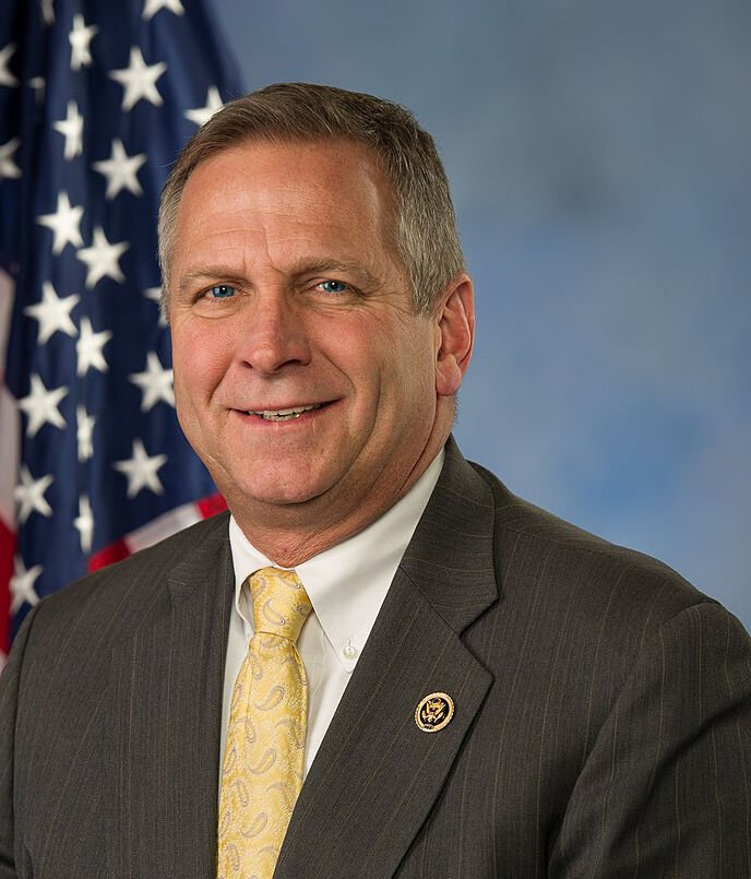 Rep. Mike Bost official portrait crop not for featured
