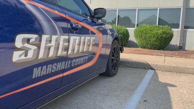 Marshall County Sheriff cruiser