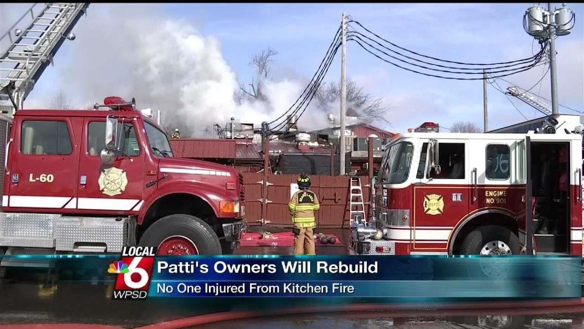 Patti S Owners Will Rebuild After Kitchen Fire News Wpsd
