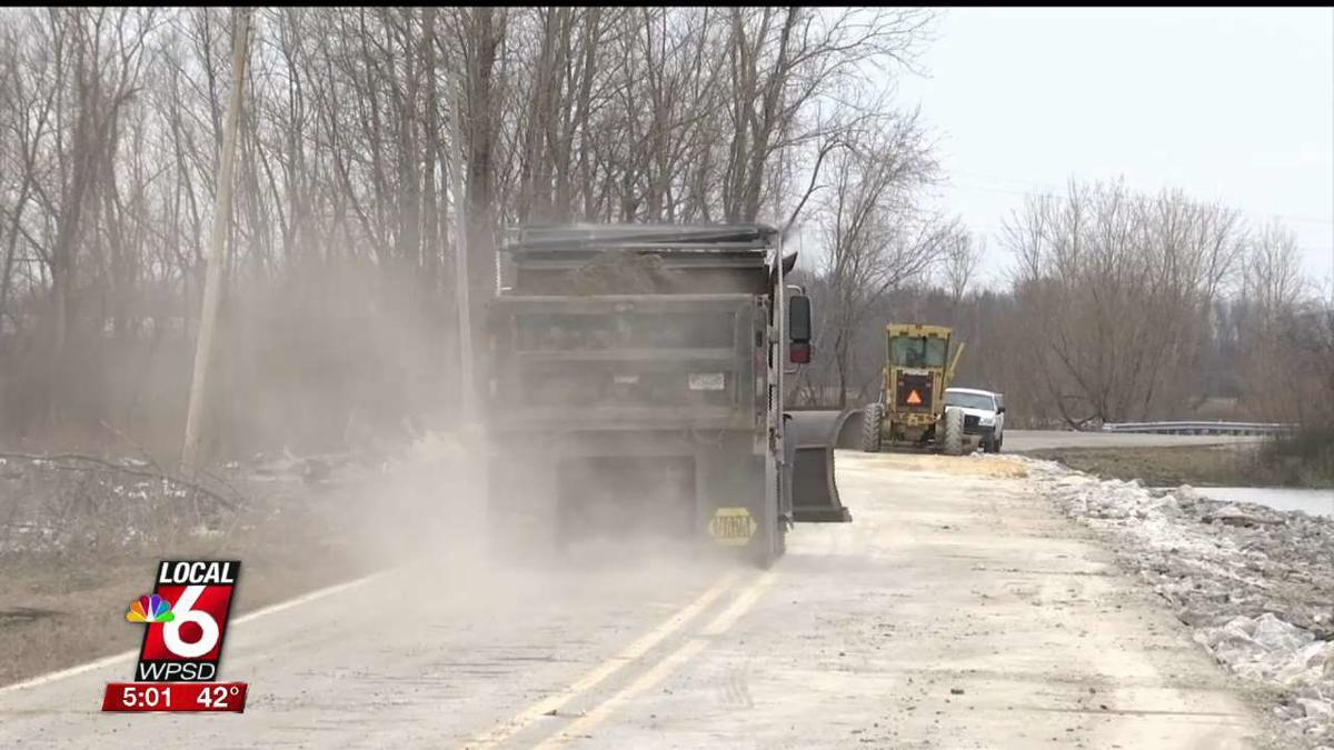 Crews-repair-roads-washed-out-by-flooding-in-Miller-City-image
