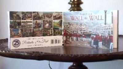 Wall to Wall book display