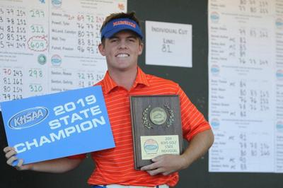 Marshall County's Nimmo wins 2019 KHSAA golf state title