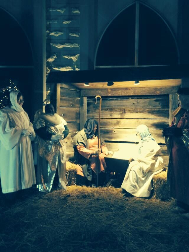 Broadway UMC live nativity 2014