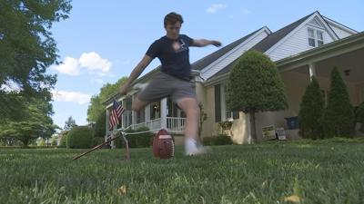 Westview's Carver finding new ways to practice while at home