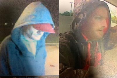 west Kentucky ATM theft suspects surveillance photos