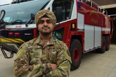 Airman 1st Class Jaspreet Singh