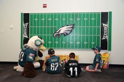 Philadelphia Eagles sensory room